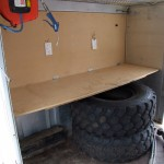 Support Truck - Workbench before