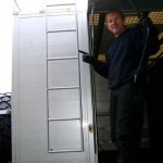 Support Truck - Steve's all about his ladder! We just want to be able to get on the roof.