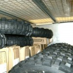 Support Truck - These tyres are off to have a hard life!