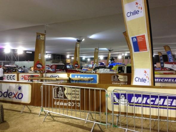 Dakar HQ and scrutineering awaits.