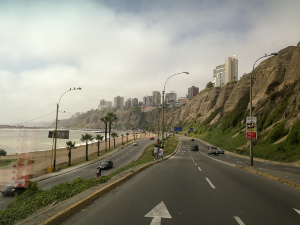 Lima: one hell of a view!
