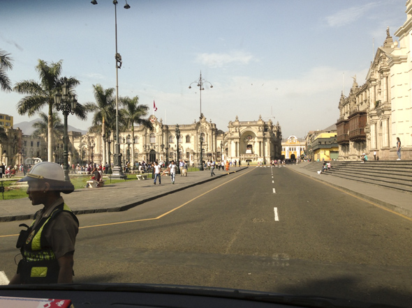 Lima: colonial cityscapes.