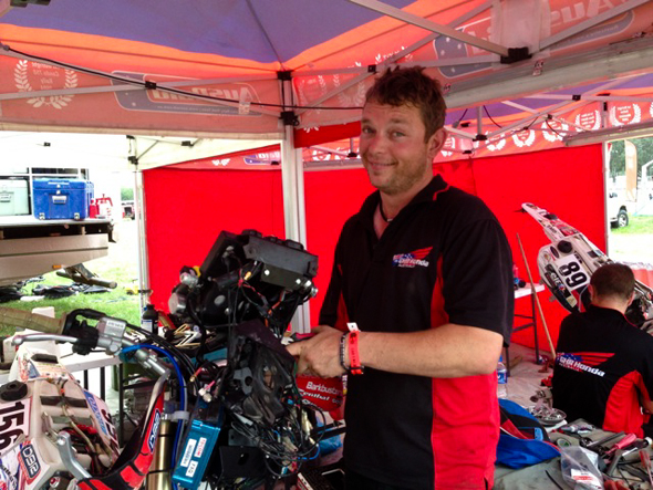 Dakar 2013: Jake Young - this is a rest day?