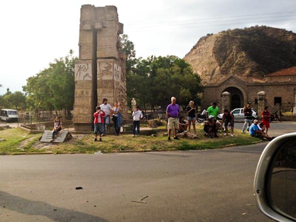 Dakar 2013: Local architecture.