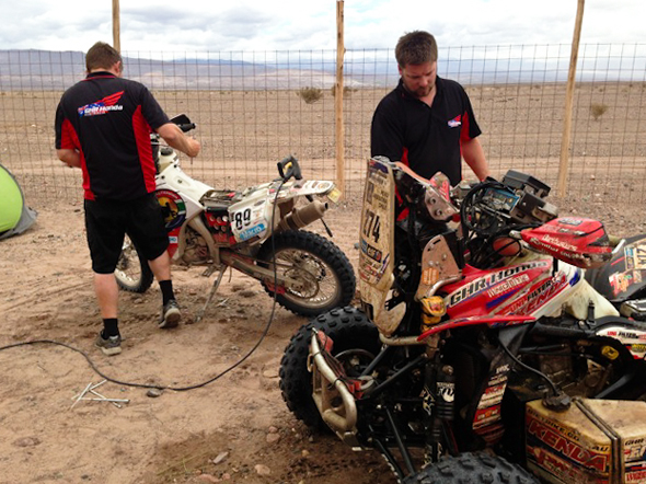 Dakar 2013 - bath time for the babies.